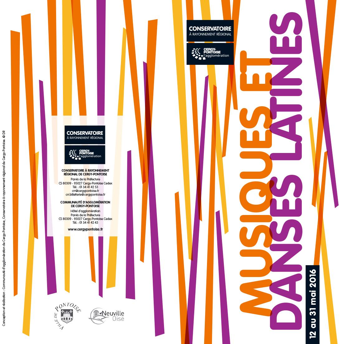 Communauté d'agglomération de Cergy-Pontoise - Musiques et danses latines - Saison 2015-2016 du Conservatoire