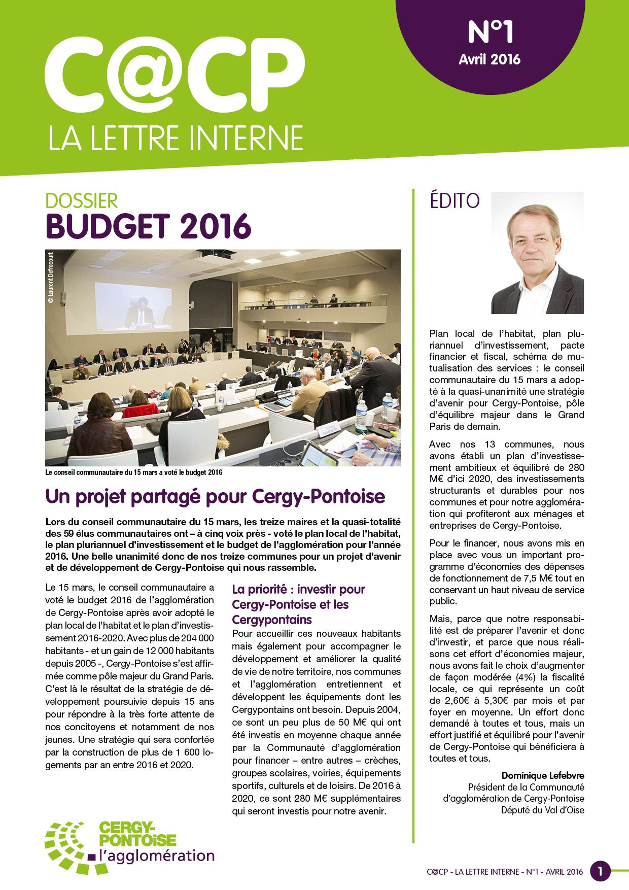 Ville de Cergy & l'agglomeration - Lettre d'information