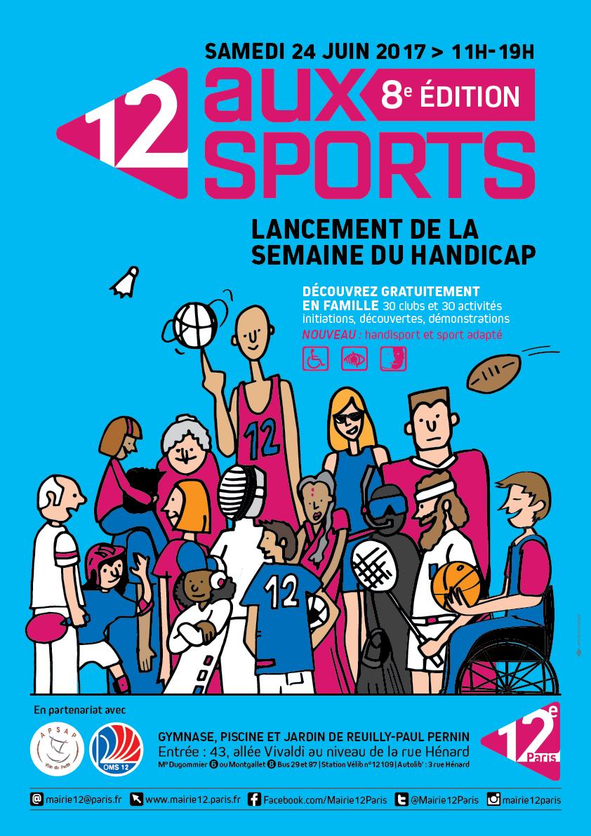 12 aux sports - 8e Edition