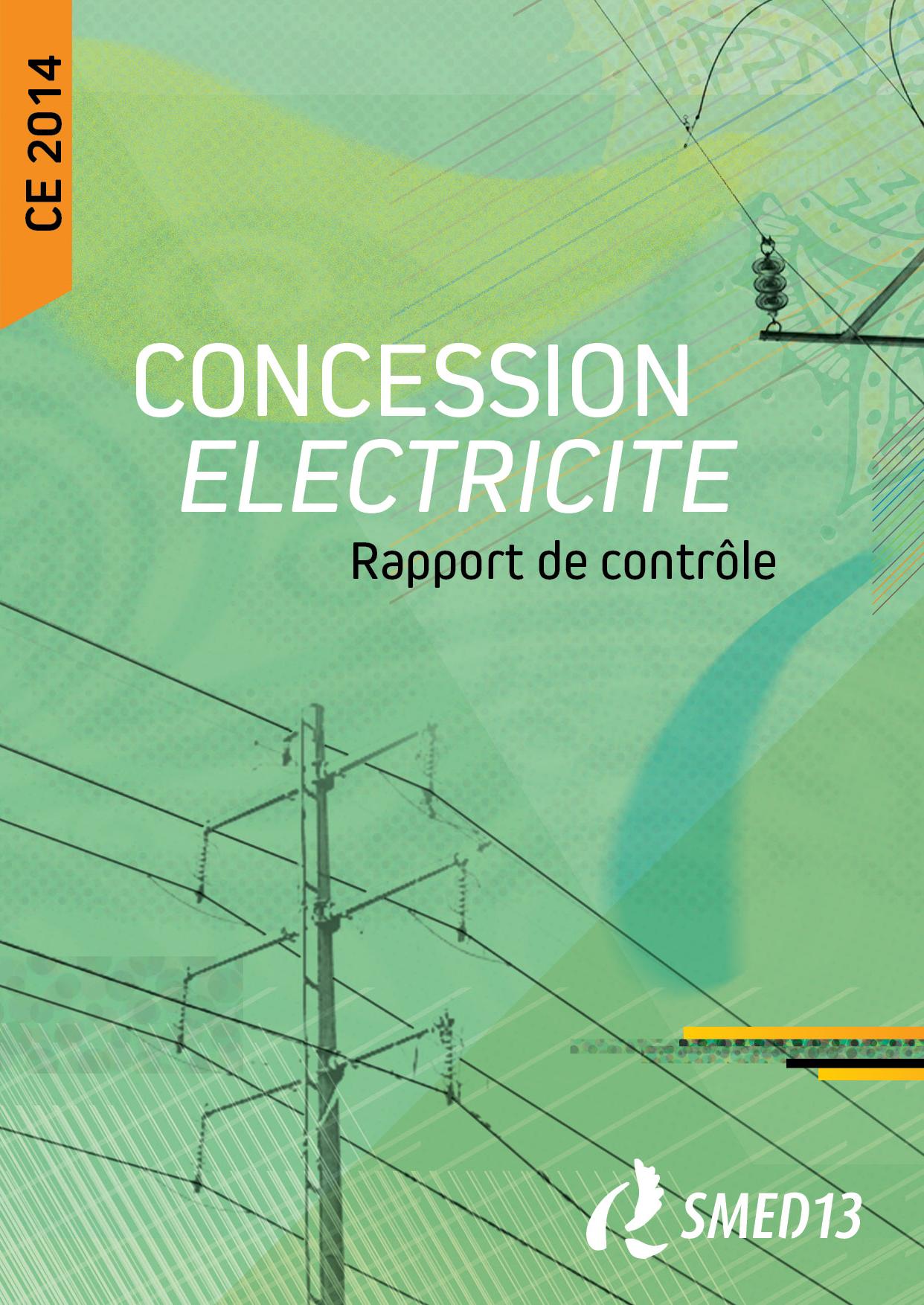 SMED13 - CONCESSION ELECTRICITE - Rapport de contrôle