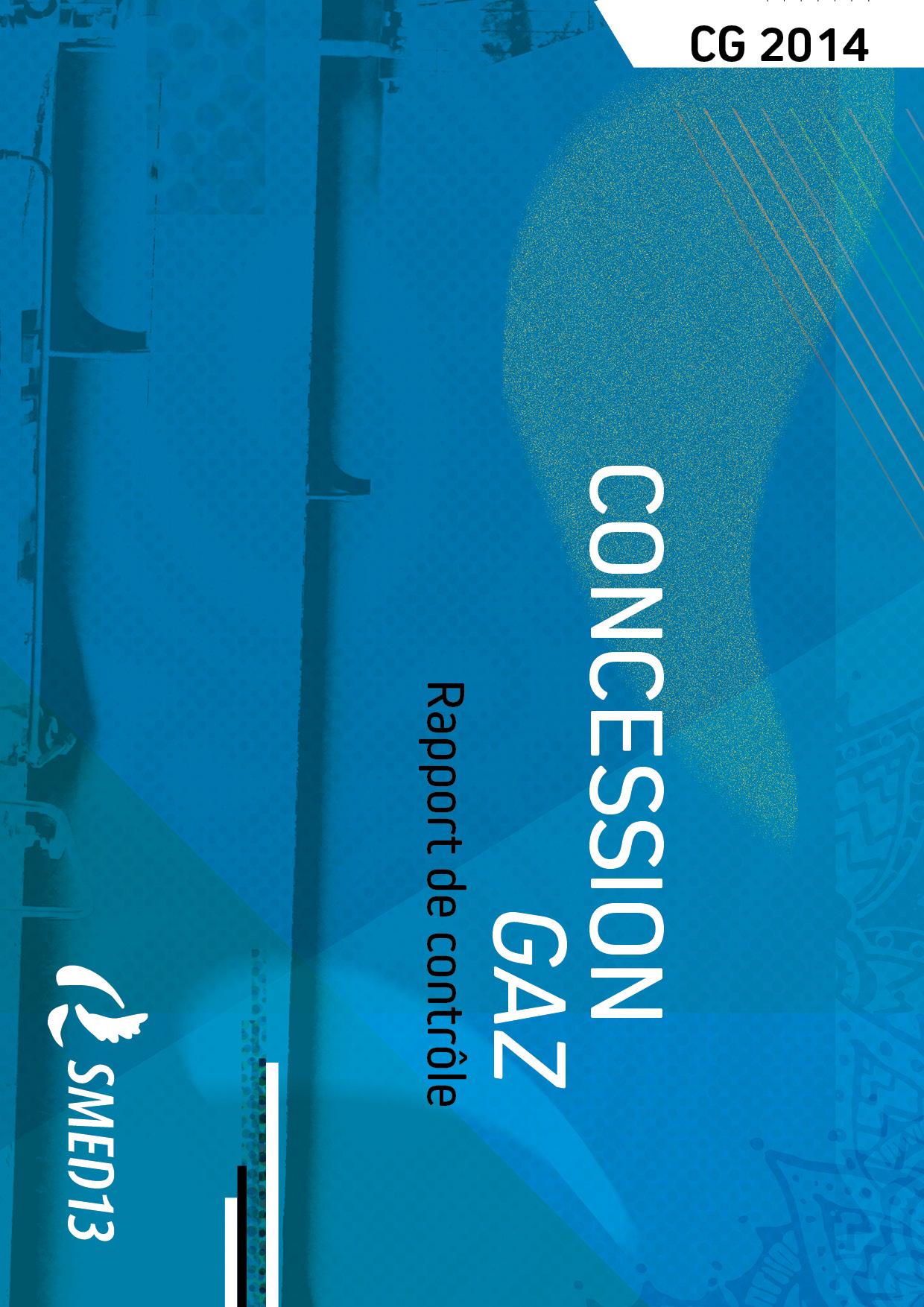SMED13 - CONCESSION GAZ - Rapport de contrôle 2014 (2016)