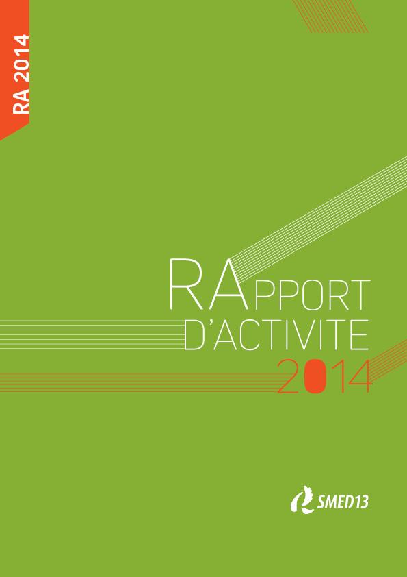 SMED13 - RAPPORT D'ACTIVITE 2014 (2015)