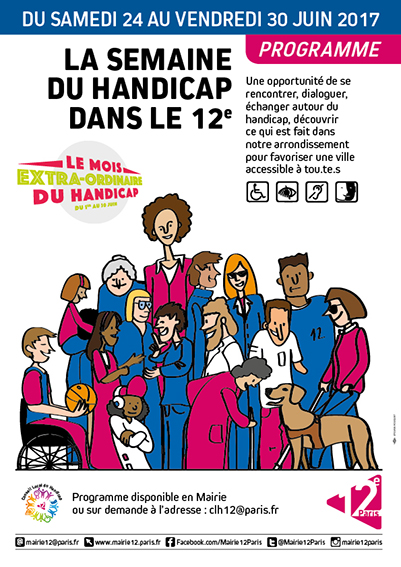 LA SEMAINE DU HANDICAP DANS LE 12e