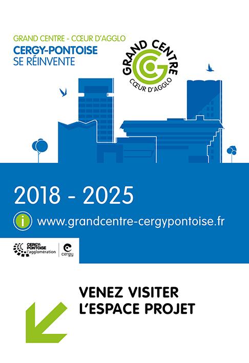 Cergy-Pontoise se réinvente - Grand Centre - Cœur d'agglo